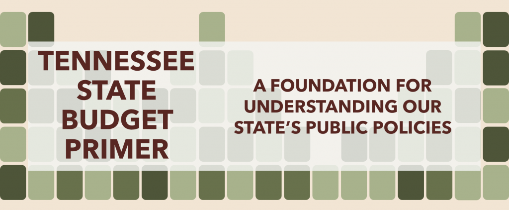 Tennessee State Budget Primer - Header 2