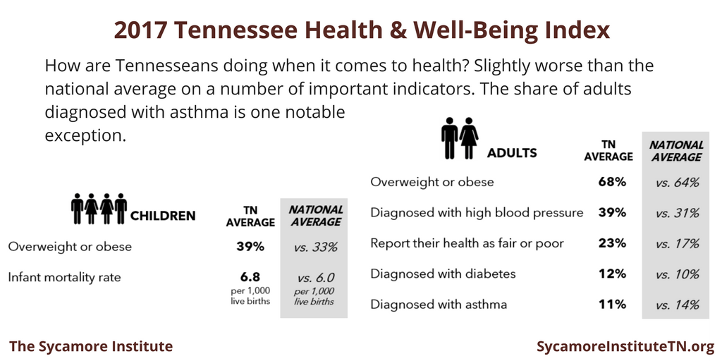 2017 Tennessee Health & Well-Being Index - How Are Tennesseans Doing