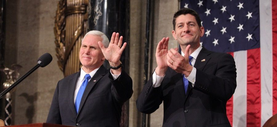 Paul Ryan and Mike Pence