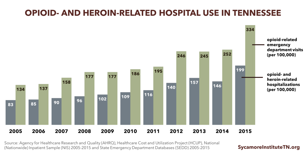 Opioid & Heroin-Related Hospital Use in TN