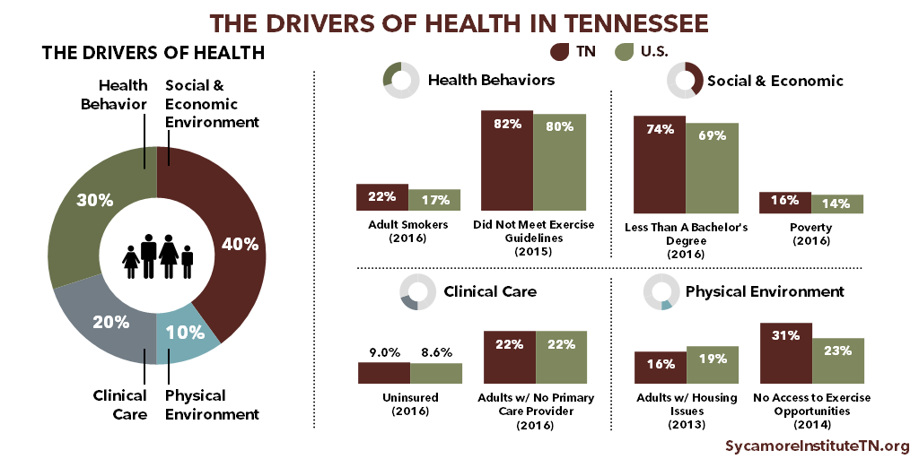 The Drivers of Health in Tennessee