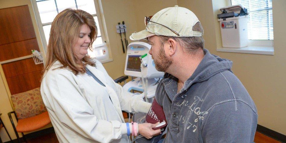 Veteran receiving Primary Care