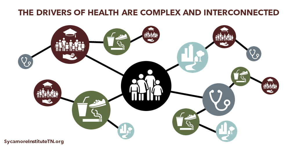 The Drivers of Health Are Complex and Interconnected