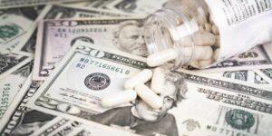 Pills on Dollar Bills