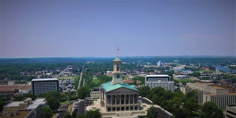 Tennessee Capitol Looking North
