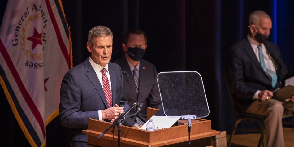 Gov. Bill Lee at 2021 State of the State address