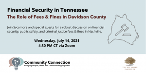 Financial Security Series - Davidson County Fees & Fines
