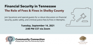 Financial Security in Tennessee - Shelby County Invite