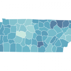 TennCare Enrollment by County in 2019